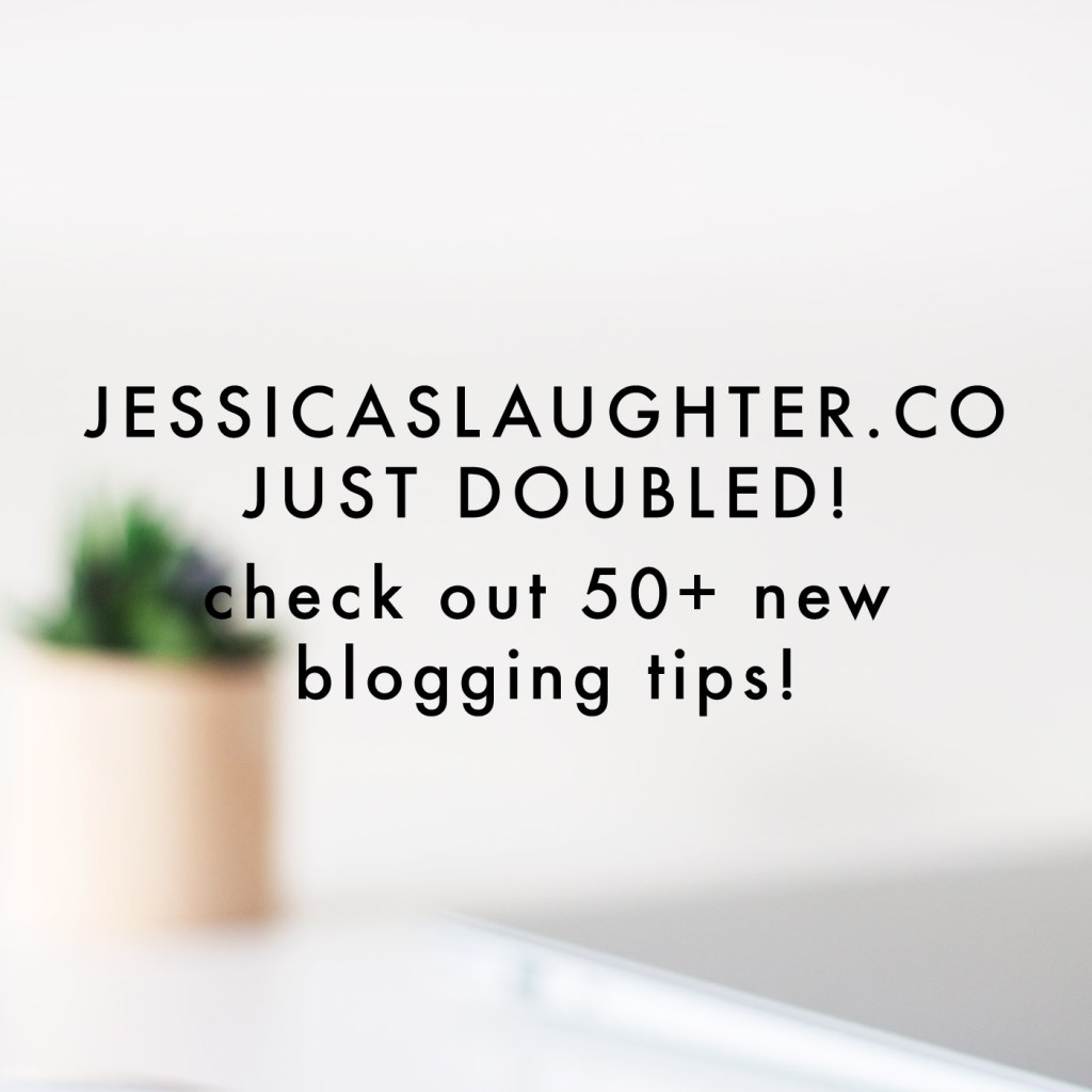 JessicaSlaughter.co Just Doubled!