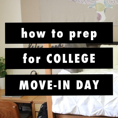 The Ultimate Guide To Preparing For College Move-In Day