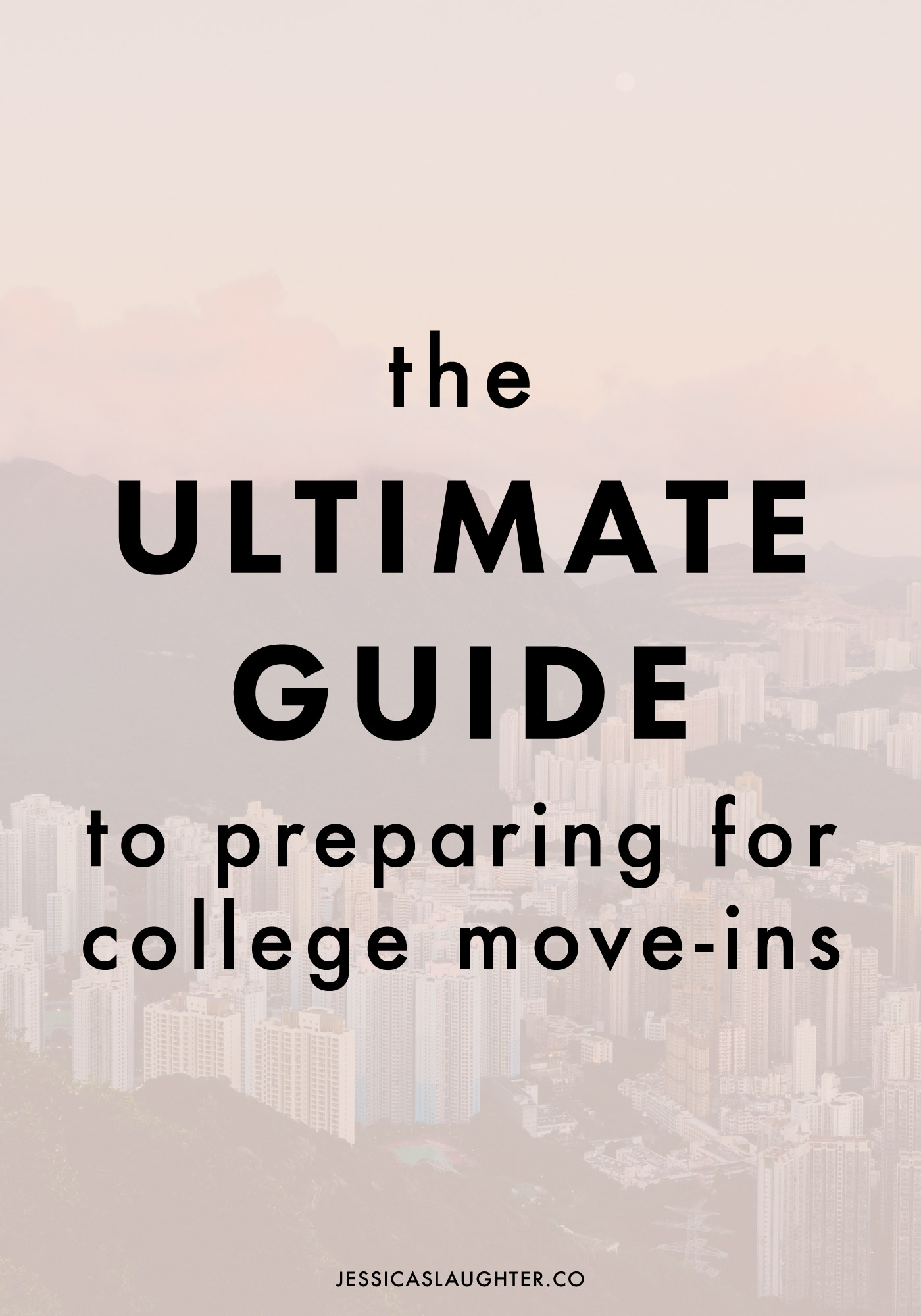 There's a lot you need to know before move-in day, so I packed it all into this post along with some extra tricks that got me through two move-ins!