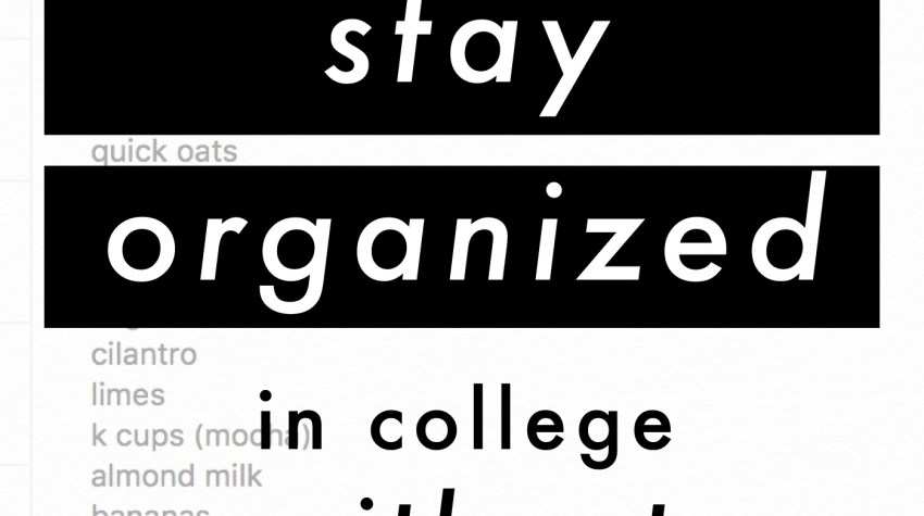 how i stay organized in college without a paper planner! | jessica slaughter
