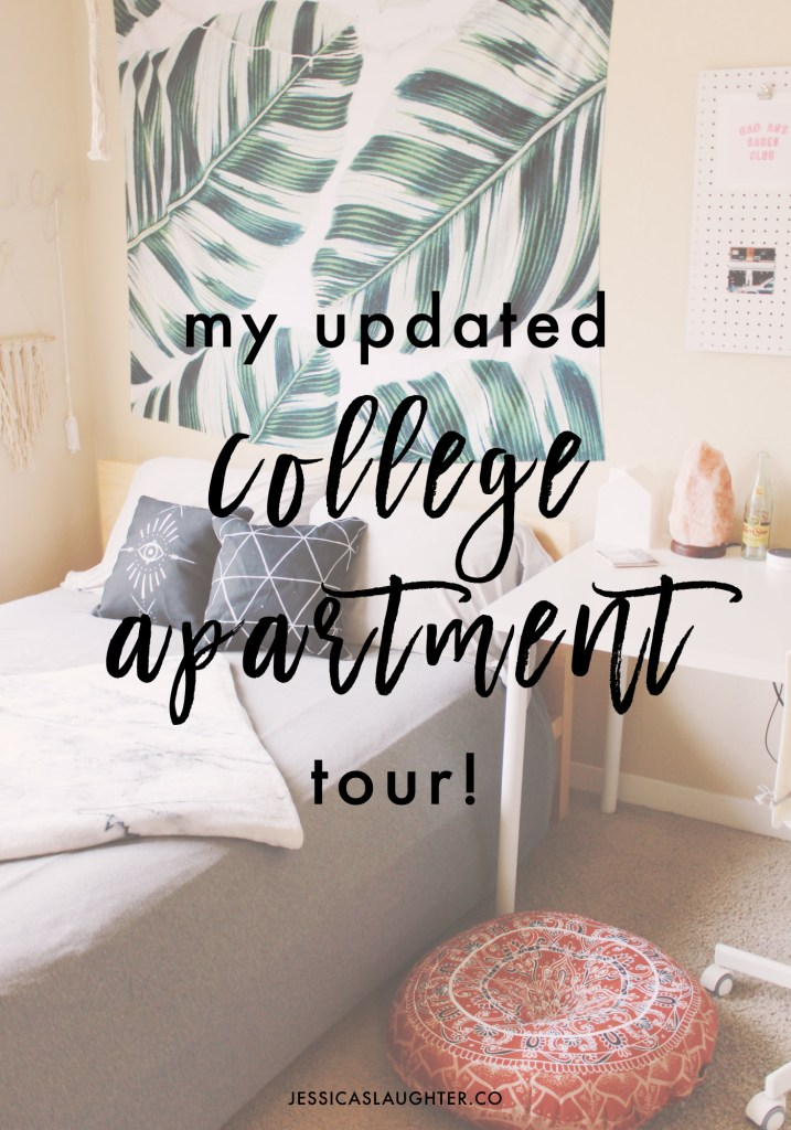 UPDATED: My College Apartment Tour!