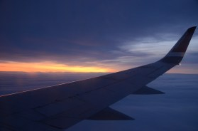 Nikon wings above Kirkenes