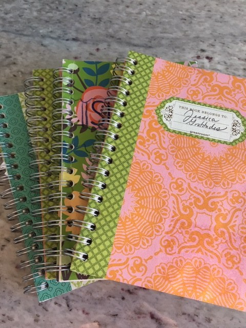 Image of gratitude journals