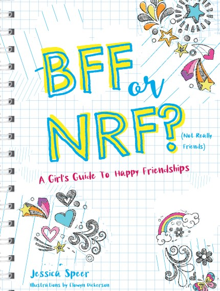 Book Cover - BFF or NRF (Not Really Friends) by Jessica Speer