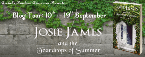 Blog Tour: Josie James and the Teardrops of Summer