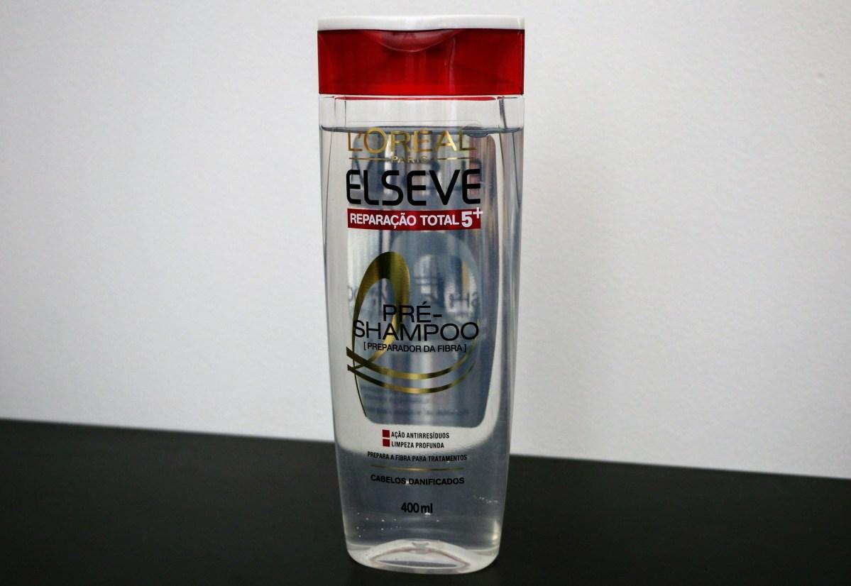 Resenha | Pré Shampoo Reparação Total 5 Elseve L'Óreal Paris