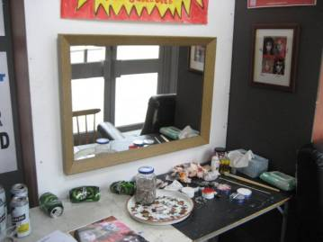 Dressing Room Installation (2)