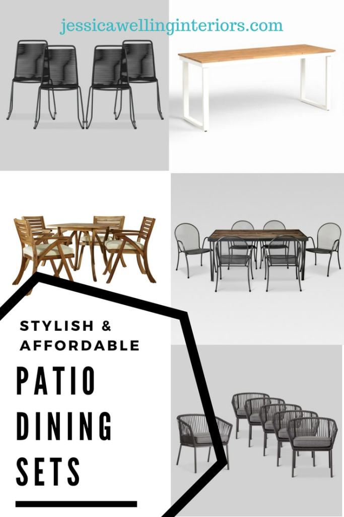 stylish affordable patio dining sets for 6 8 jessica welling