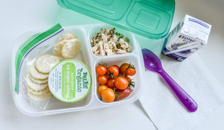 Create a School Lunch-Prep Station!