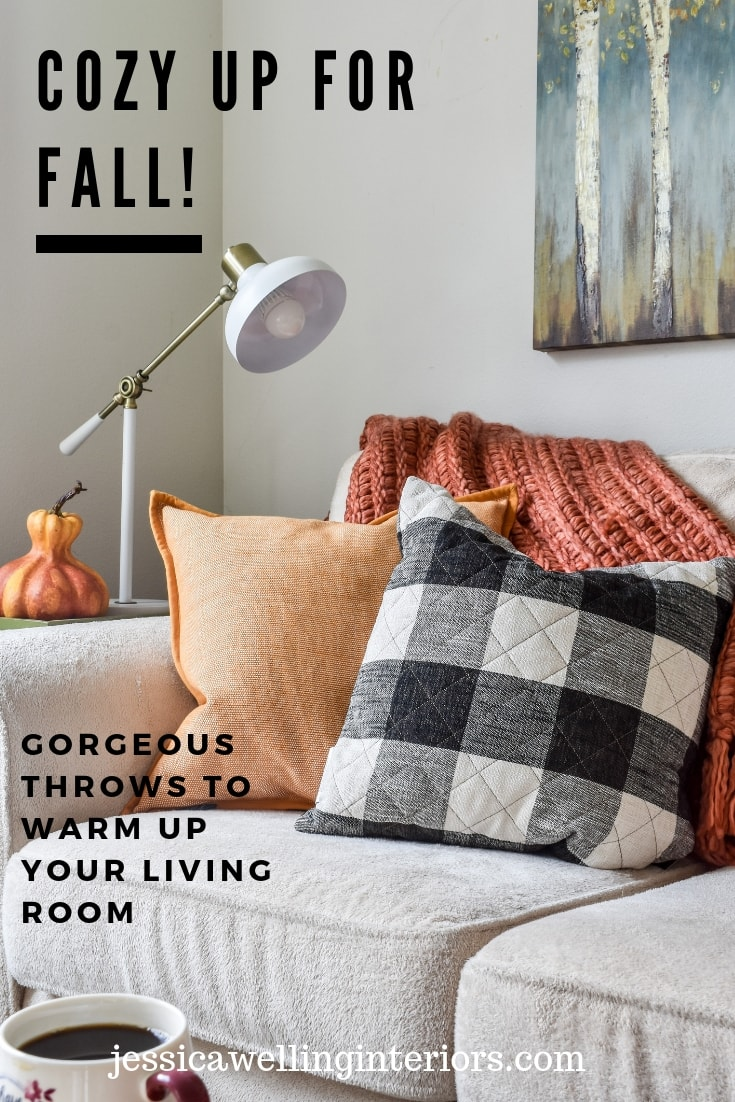 photo of Fall throw pillows and blankets