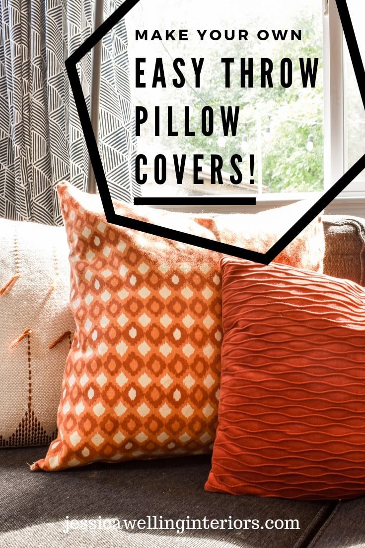 photo of Easy throw pillow covers