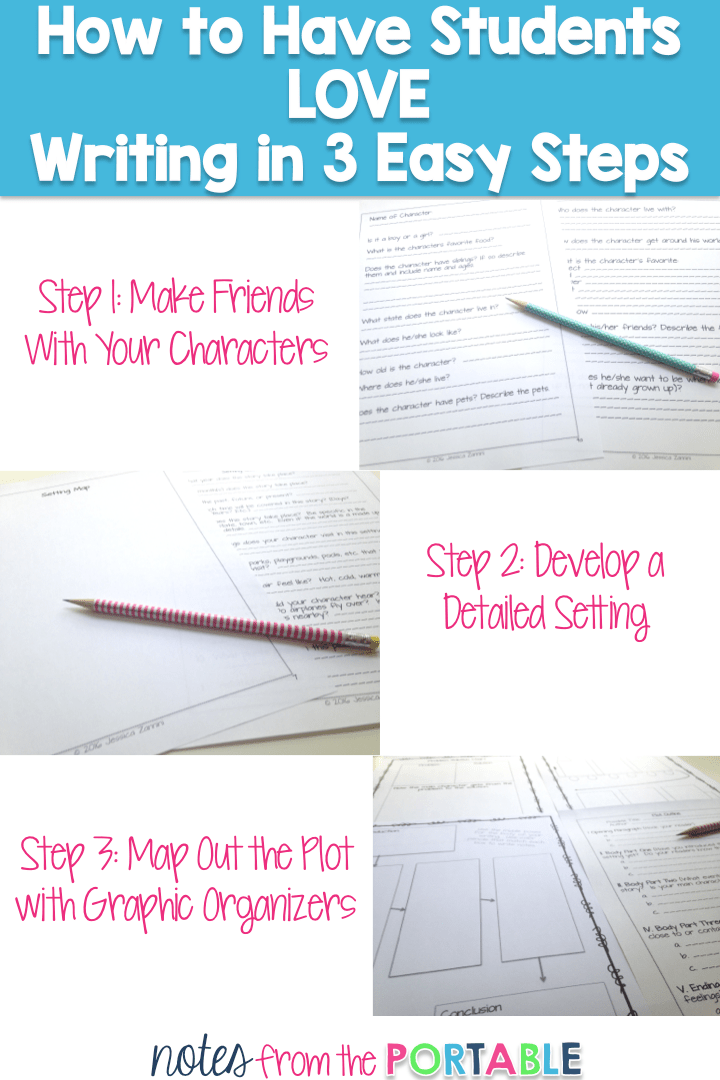 How to have students LOVE writing in 3 Easy Steps
