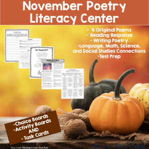 November Poetry Literacy Center