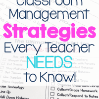 6 Classroom Management Tips for an Amazing School Year!