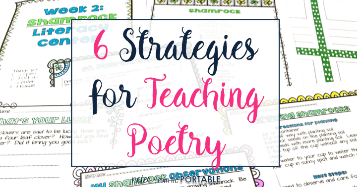 6 Strategies for Teaching Poetry