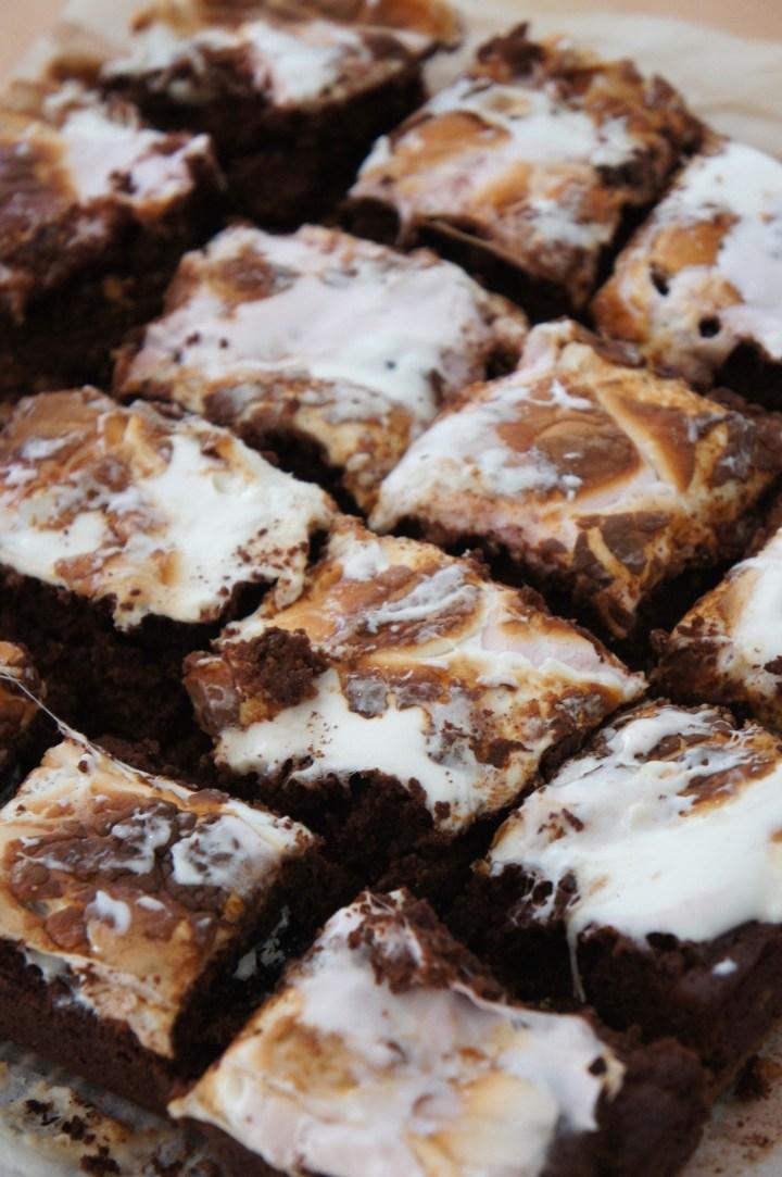 Smore's Oreo brownies