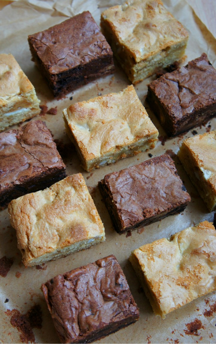 Reese's brownies and blondies