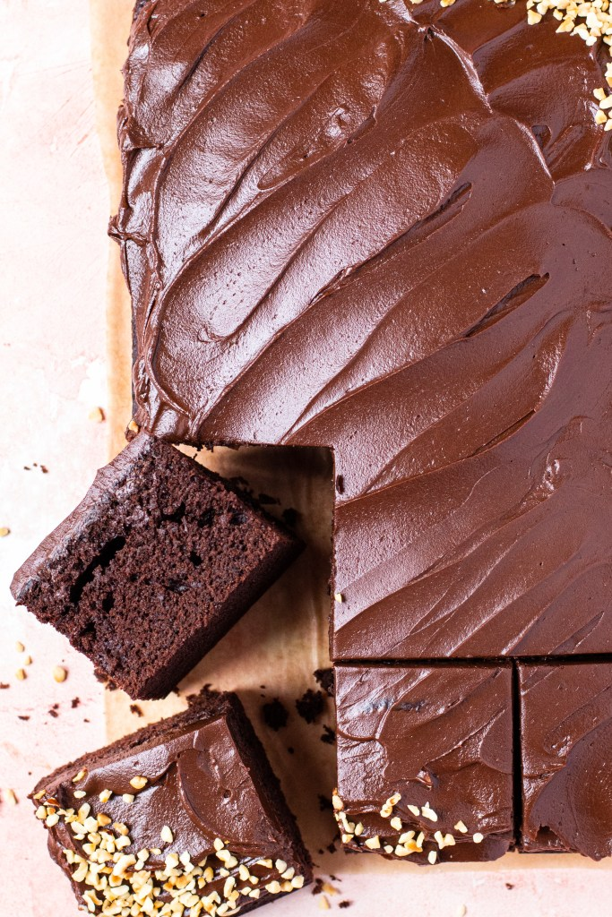 Easy baking recipe 4: Chocolate fudge cake