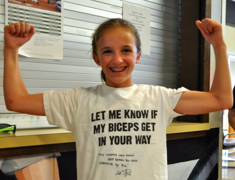 YES! Our new friend Annie shows us what the right attitude looks like.