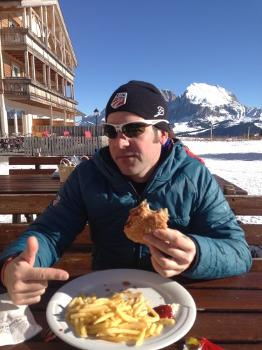 Cork, missing 'Merican food...and finding it in the Alps.