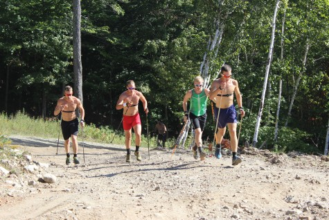 The boys getting after it near the end of the 3 minutes (photo by Pat)
