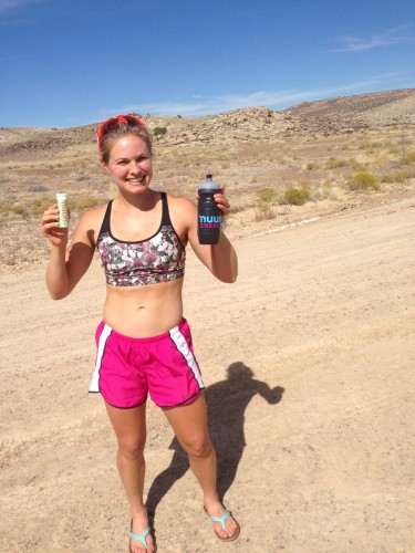Nuun kept me hydrated on all those long, hot and sunny runs! (photo by Erika)