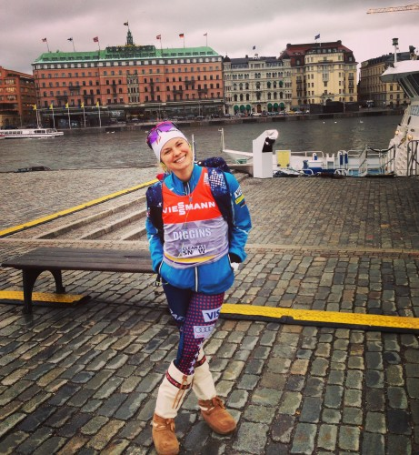 Happy to be in Stockholm! (photo from Sadie)