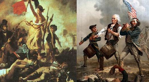 Imagini pentru american and french revolution