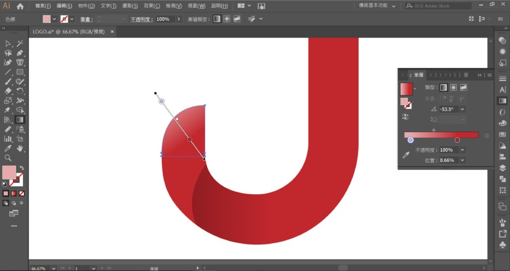 LOGO 28 - Illustrator CC:LOGO设计超简单,新手也能轻松做出的商标设计!
