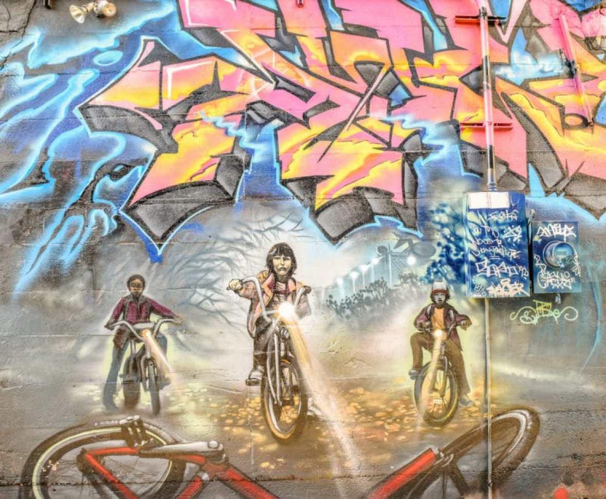 visiting denver RiNo murals