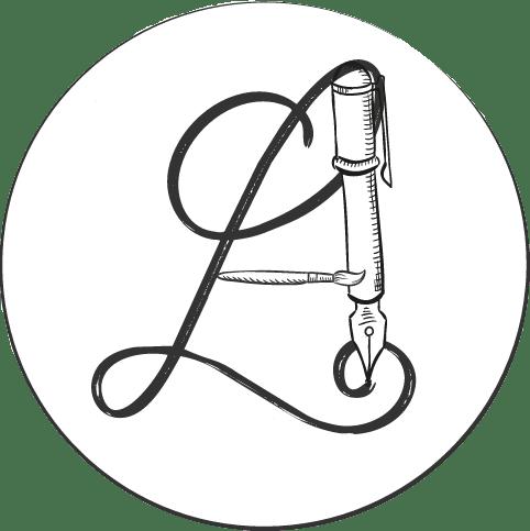 Officieel logo Linguarte zonder achtergrond rondom