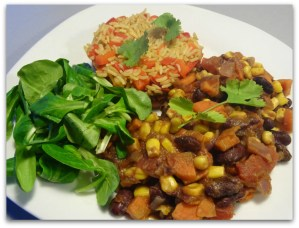 chili sin carne - Chili sin carne