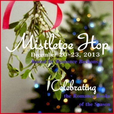 badge Mistletoe Hop
