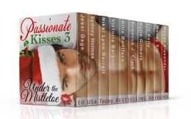 Curl up under the mistletoe with these 10 brand new novellas in the sexy Passionate Kisses romance anthology!