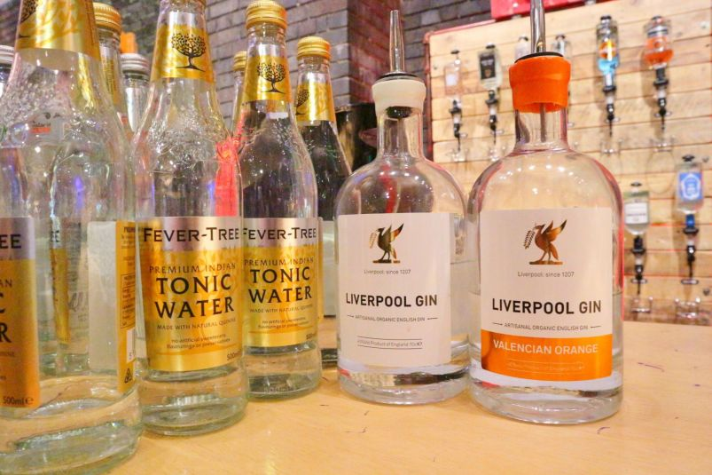 Orange infused Liverpool Gin