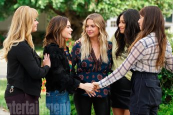 PRETTY LITTLE LIARS Episode: Till Death Do Us Part Season 7, Episode 20 AIr Date: June 27, 2017 SASHA PIETERSE, LUCY HALE, ASHLEY BENSON, SHAY MITCHELL, TROIAN BELLISARIO