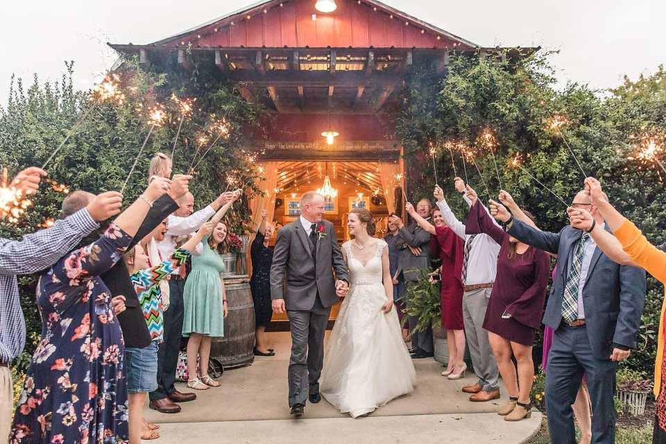 barn at blueberry hill wedding