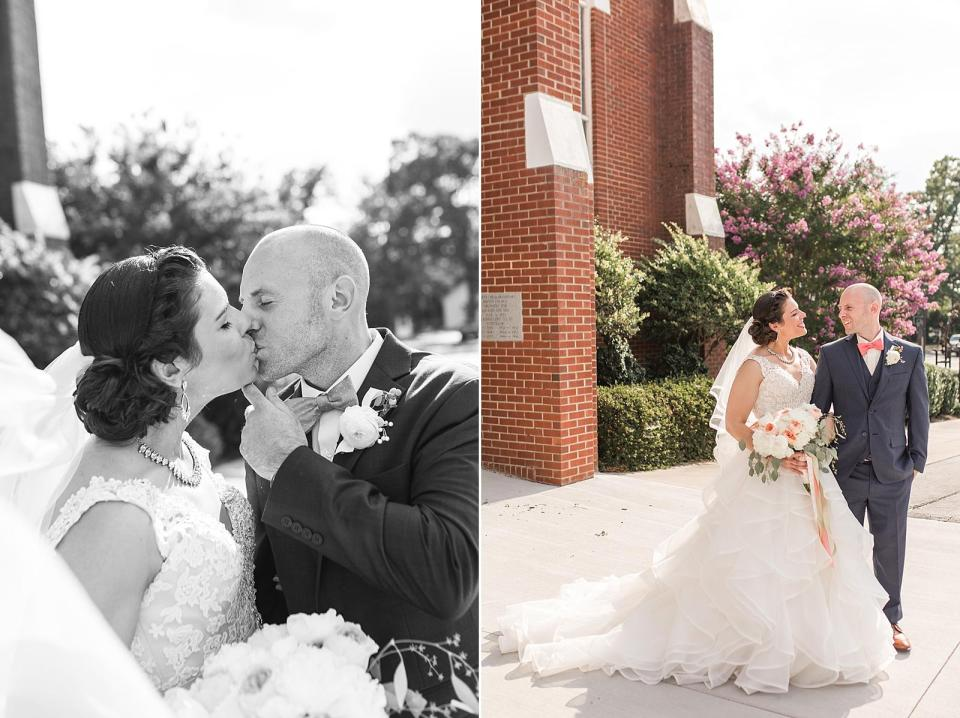 Centennial Station Arts Center High Point Wedding