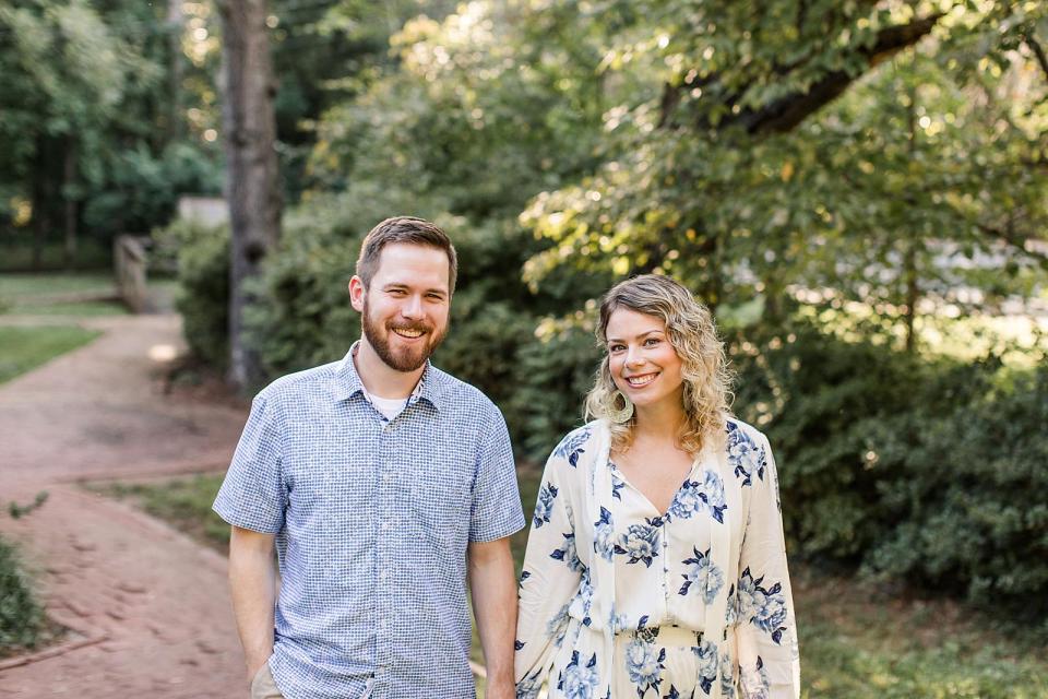 Statesville North Carolina Greenway Engagement Session