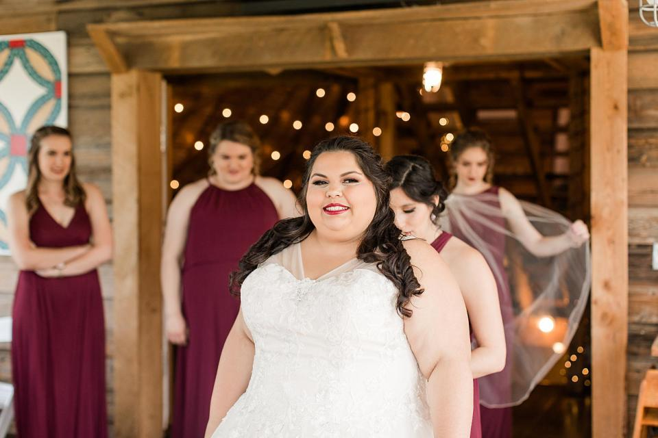 The Barn at Blueberry Hill Wedding