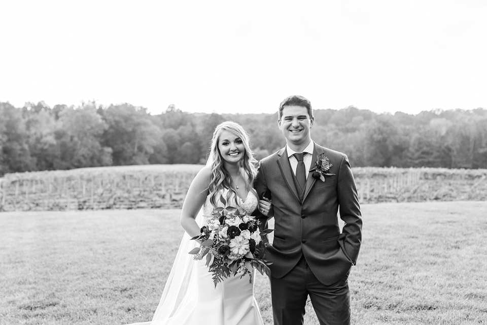 Childress Vineyards Wedding Lexington North Carolina