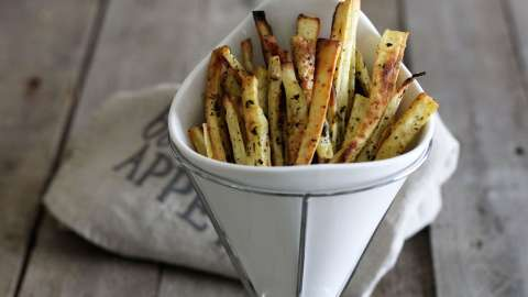 Herb Roasted Parsnip Fries