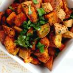 Simple Sides: Oven Roasted Sweet Potato