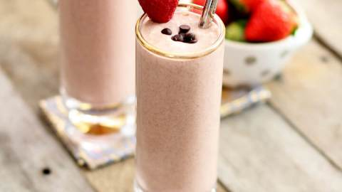 Strawberry Chocolate Chip Shake