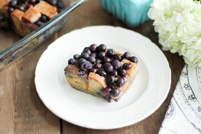 Blueberry Baked French Toast - Coconut Contentment (Gluten-Free; Paleo) (1 of 1)