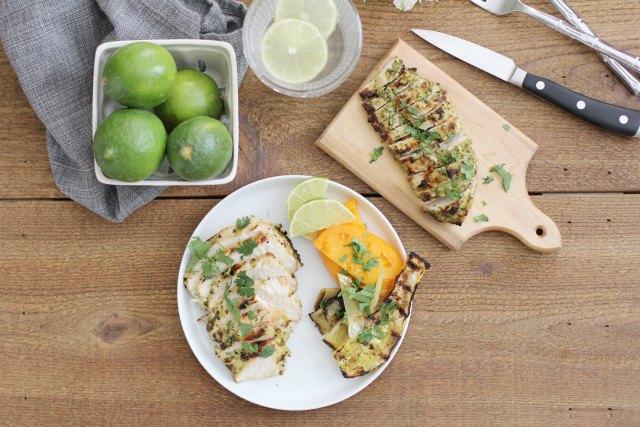 Grilled Cilantro Chicken: Jessi's Kitchen