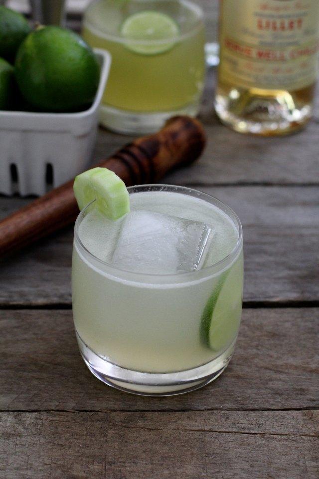 Cucumber Gin Cocktail: Jessi's Kitchen