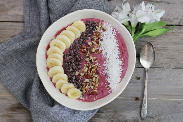 Mixed Berry Smoothie Bowl Dessert: Jessi's Kitchen