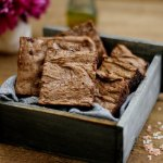 Flourless Olive Oil and Sea Salt Brownie