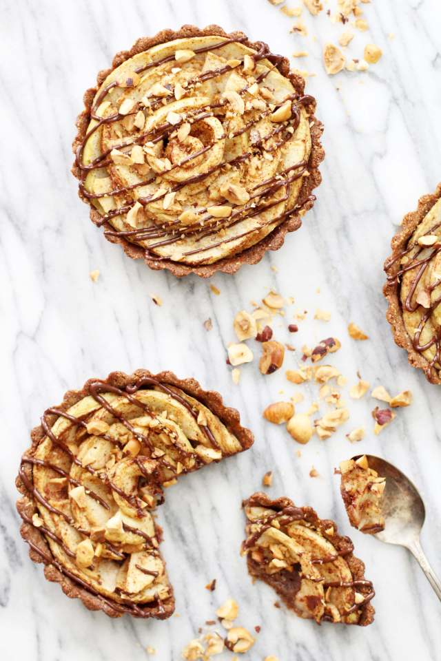 Hazelnut Apple Tarts: Jessi's Kitchen